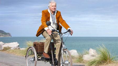balade avec un vélo tricycle pour adultes