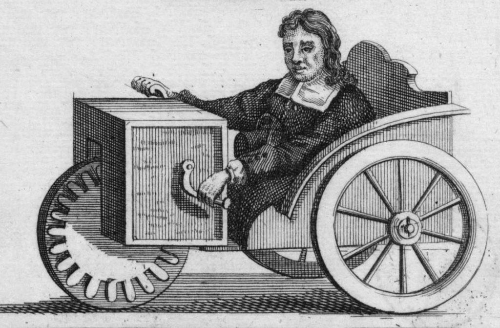 le tricycle fabriqué par Rollstuhl Farfler
